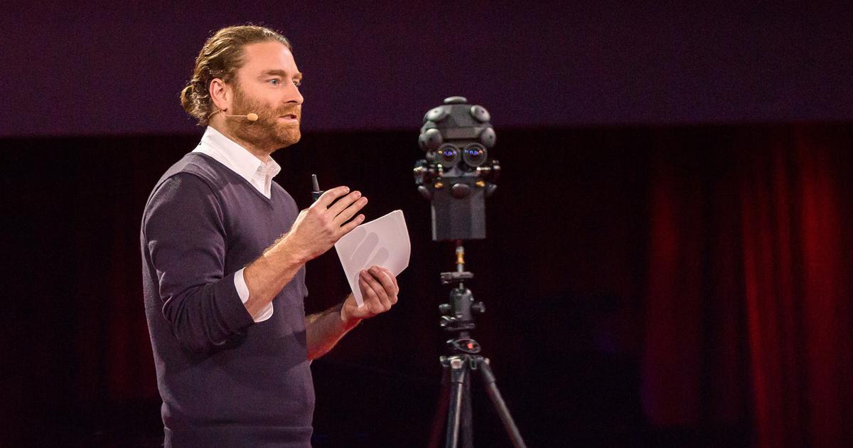 Realidade Virtual   TED 2015
